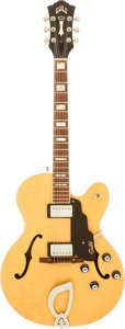 Musical Instruments:Electric Guitars, Circa 1999 Guild X-150 D Natural Archtop Electric Guitar, Serial #CB000108....