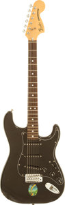 Musical Instruments:Electric Guitars, 1979 Fender Stratocaster Black Solid Body Electric Guitar, Serial # S960435....