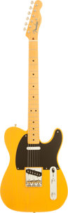 Musical Instruments:Electric Guitars, 2003 Fender '52 USA Re-issue Telecaster Butterscotch Blonde SolidBody Electric Guitar, Serial # 41526....