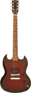 Musical Instruments:Electric Guitars, 1997 Gibson SG I All-American Series Redburst Solid Body ElectricGuitar, Serial # 90207420....