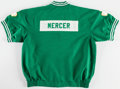 Basketball Collectibles:Uniforms, 1997-98 Ron Mercer Game Worn, Signed Boston Celtics WarmupJacket....