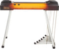 Musical Instruments:Lap Steel Guitars, 1959 Gibson Electraharp Sunburst Pedal Steel Guitar....