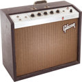 Musical Instruments:Amplifiers, PA, & Effects, 1964 Gibson Falcon Brown Guitar Amplifier, Serial # 486133....