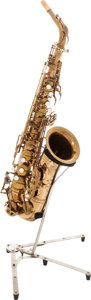 Musical Instruments:Horns & Wind Instruments, 1964 Selmer Mark VI Brass Alto Saxophone, Serial # M115725....