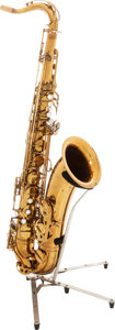 Musical Instruments:Horns & Wind Instruments, 1959 Selmer Mark VI Brass Tenor Saxophone, Serial # M80912....