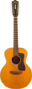 Musical Instruments:Acoustic Guitars, 1974 Guild F-212 Natural Acoustic Guitar, Serial # 127357....