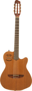 Musical Instruments:Electric Guitars, 2009 Godin Multiac ACS-SA Natural Solid Body Electric Guitar,Serial # 09035109....