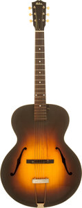 Musical Instruments:Acoustic Guitars, Mid 1930's Gibson L-50 Sunburst Archtop Acoustic Guitar....