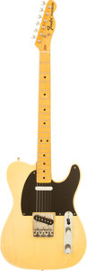 Musical Instruments:Electric Guitars, 1970's Fender Telecaster Blonde Solid Body Electric Guitar, Serial# 362757....