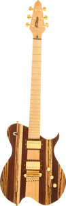 Musical Instruments:Electric Guitars, 2002 Garside Natural Solid Body Electric Guitar, Serial # GC082002....