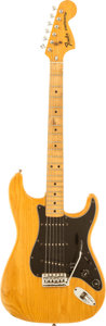 Musical Instruments:Electric Guitars, 1977 Fender Stratocaster Natural Solid Body Electric Guitar, Serial # S780169....