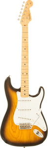 Musical Instruments:Electric Guitars, 1995 Fender Custom Shop '54 Re-Issue Stratocaster Sunburst SolidBody Electric Guitar, Serial # CN400698....