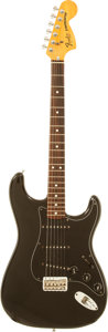 Musical Instruments:Electric Guitars, 1979 Fender Hardtail Stratocaster Black Solid Body Electric Guitar, Serial # S981933....