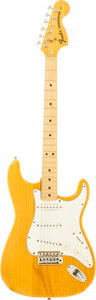 Musical Instruments:Electric Guitars, 1974 Fender Stratocaster Natural Solid Body Electric Guitar, Serial# 653183....