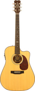 Musical Instruments:Acoustic Guitars, 1990 Alvarez Professional 5208C Natural Acoustic Guitar, Serial #910242....