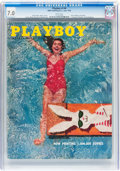 Magazines:Vintage, Playboy V3#6 (HMH Publishing, 1956) CGC FN/VF 7.0 White pages....