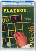 Magazines:Vintage, Playboy V5#4 (HMH Publishing, 1958) CGC VF 8.0 White pages....