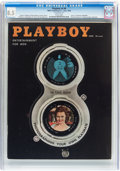 Magazines:Vintage, Playboy V5#6 (HMH Publishing, 1958) CGC VF+ 8.5 White pages....