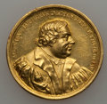 German States:Augsburg, German States: Augsburg. Free City gold Reformation Medal 1817UNC,...