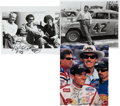 Miscellaneous Collectibles:General, The Petty Family Signed Photographs Lot of 3....