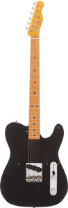 Musical Instruments:Electric Guitars, 1999 Fender 50's Esquire Black Solid Body Electric Guitar, Serial # MN9379682....