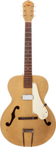 Musical Instruments:Electric Guitars, Circa 1959 Kay Gold Archtop Electric Guitar....