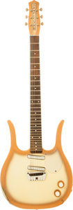 Musical Instruments:Electric Guitars, Circa 1960 Danelectro Guitaralin CopperBurst Solid Body ElectricGuitar....