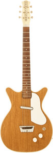 Musical Instruments:Electric Guitars, Circa 1964 Danelectro Deluxe Solid Body Electric Guitar....