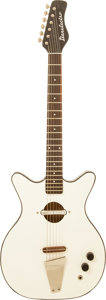 Musical Instruments:Electric Guitars, Circa 1968 Danelectro Convertible White Acoustic ElectricGuitar....