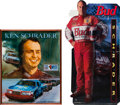 Miscellaneous Collectibles:General, 1980's-90's Ken Schrader Display Items Lot of 3....