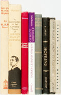 Books:Books about Books, [Gerard Manley Hopkins]. Group of Eight Books Related to Hopkins. Various publishers and dates.... (Total: 8 Items)