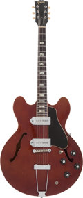 Musical Instruments:Electric Guitars, 1967 Gibson ES-330 Sparkling Burgundy Metallic Semi-Hollow BodyElectric Guitar....