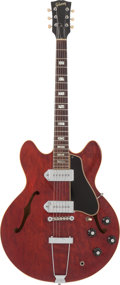 Musical Instruments:Electric Guitars, 1967 Gibson ES-330 Cherry Semi-Hollow Body Electric Guitar, Serial # 062224....