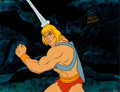 Animation Art:Production Cel, He-Man and the Masters of the Universe Production Cel(Filmation, 1984).... (Total: 2 Items)