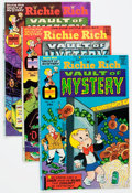 Bronze Age (1970-1979):Cartoon Character, Richie Rich Vaults of Mystery File Copies Box Lot (Harvey, 1974-82)Condition: Average NM-....