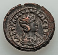 Ancients:Roman Provincial , Ancients: EGYPT. Alexandria. Tranquillina, wife of Gordian III(Augusta, AD 241-244). BI tetradrachm (13.27 gm)....
