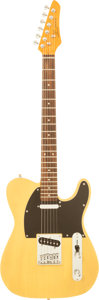 Musical Instruments:Electric Guitars, 2000's SX Furrian Blonde Solid Body Electric Guitar....