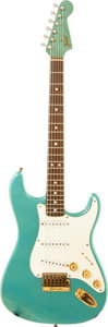 Musical Instruments:Electric Guitars, Circa 1978 Greco Super Real Lake Placid Blue Solid Body Electric Guitar, Serial # F813144....