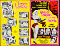 "Movie Posters:Crime, Right Hand of the Devil (Cinema-Video International, 1963). UncutPressbook (4 Pages, 11"" X 17""). Crime.. ..."