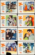 """Movie Posters:Action, Flight to Tangier (Paramount, 1953). Lobby Card Set of 8 (11"""" X 14"""") 3-D Style. Action.. ... (Total: 8 Items)"""