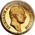 German States:Saxony, German States: Saxony. Friedrich August III gold Proof 10 Mark 1905-E PR65 Cameo PCGS,...