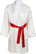 "Movie/TV Memorabilia:Costumes, A Boxing Robe from ""Rocky IV""..."