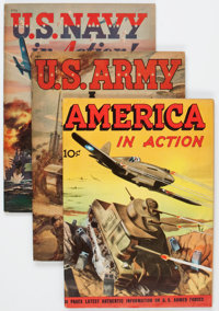 Golden Age War Related Group (Various Publishers, 1940s-50s) Condition: Average FN.... (Total: 9 Items)