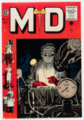 Golden Age (1938-1955):Miscellaneous, M.D. #5 Gaines File pedigree 11/12 (EC, 1955) Condition: VF/NM....