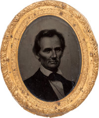 Abraham Lincoln: An Iconic George Clark Ambrotype Brooch