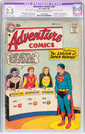 Silver Age (1956-1969):Superhero, Adventure Comics #247 (DC, 1958) CGC Apparent GD+ 2.5 Slight to Moderate (B-2) Cream to off-white pages....
