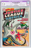 Silver Age (1956-1969):Superhero, The Brave and the Bold #28 Justice League of America (DC, 1960) CGCApparent FN/VF 7.0 Moderate (B-3) Off-white pages....