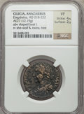 Ancients:Roman Provincial , Ancients: CILICIA. Anazarbus. Elagabalus (AD 218-222). AE 27 mm(12.19 gm)....