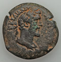 Ancients:Roman Provincial , Ancients: EGYPT. Alexandria. Antoninus Pius (AD 138-161). AE drachm(16.88 gm)....