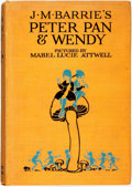Books:Children's Books, J. M. Barrie. J. M. Barrie's Peter Pan & Wendy. London:Hodder & Stoughton Limited, [n.d.]. Illustrated by Mabel...
